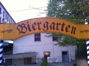 Biergarte LägereBräu
