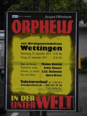 Orpheus i de Unterwält