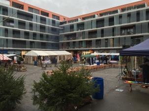 Zentrumsplatz Chlausiizug