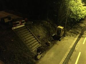 De Zuegang zu de Limmatbrugg vo de Schwimmbadstroos her wird gändered