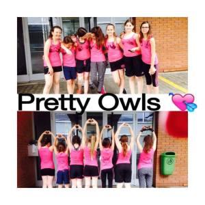 "D ""Pretty Owls"" vom Blauring St. Sebastian (Foti vo de Nicole Berger)"