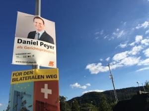 Daniel Peyer Wahlplakat