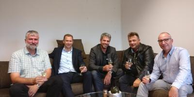 Die föif neue Gmeindratskandidate nach em Interview