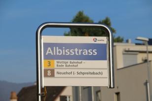 Haltestell Albisstrass